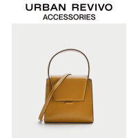 URBAN REVIVO2020冬季新品女士配件�r尚��s手提包AA40TB1N2000
