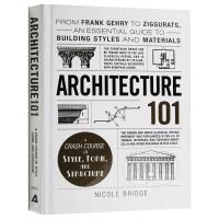 Architecture 101 101系列 建筑学 英文原版 社会科学 英文版原版书籍 精装进口英语书