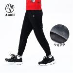 【200-100】安奈儿童装男童加绒加厚保暖休闲长裤