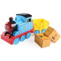Lefei托马斯小火车头套装大号儿童玩具惯性汽车男孩宝宝列车模型