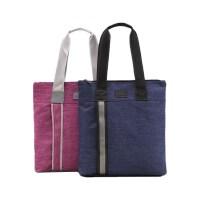 可定制logo 贝多美6893购物袋 竖式手提资料袋 文件袋 单肩手拎公文书袋 单个