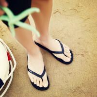 人字拖男大码夏季防滑沙滩鞋情侣夹趾凉拖居家浴室潮拖越南托男女拖鞋