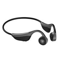 V9骨传导蓝牙耳机触控5.0无线男女运动不入耳防水挂耳式双耳无痛耳机骨传感开车索尼华为通用 标配