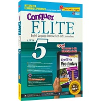 SAP Conquer Elite Level 5 新加坡英语写作 级别5 提高版 攻克精英计划 小学五年级 英文教辅