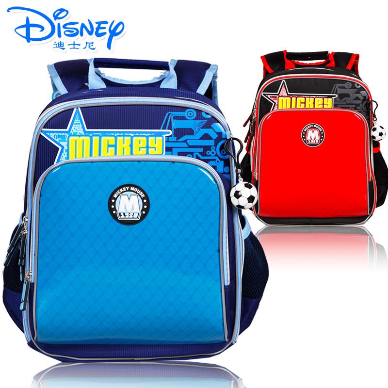 Disney迪士尼小学1-3年级英伦风卡通减负书包TGMB0082有买就有送 送笔盒