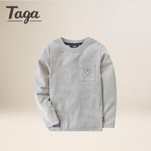 TAGA童装男童长袖t恤  春秋款 儿童长袖T恤中大童春秋款T恤