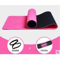 双层双色快回弹地垫爬行垫加厚加长双面防滑运动瑜伽健身垫子tpe无味瑜伽垫