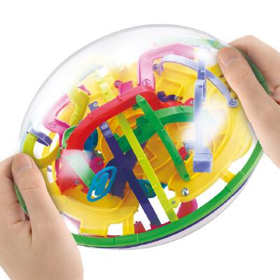 【悦乐朵玩具】儿童早教益智立体魔幻智力球迷宫球益智游戏亲子互动3-6-12岁玩具 早教益智玩具总动员