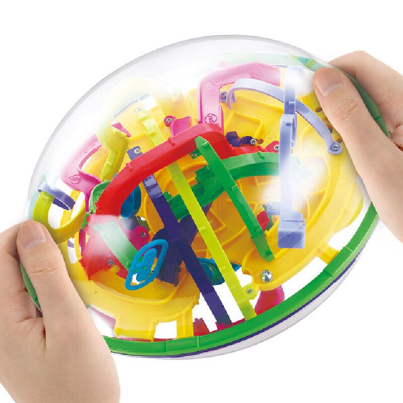 【2件5折】儿童早教益智立体魔幻智力球迷宫球益智游戏亲子互动3-6-12岁玩具年货节 2件5折 领券折后满200减20 1.15日-1.20日