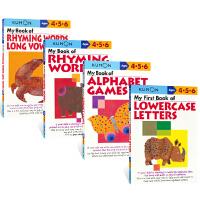 Kumon Verbal Skills Workbooks Ages 4-6岁 公文式教育 英语技能练习册字母篇 大小