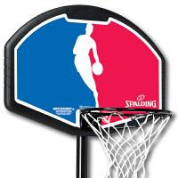 斯伯丁正品篮球架儿童家用运动训练蓝球框室内户外篮筐可移动篮58651