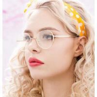 近视眼镜女可配有度数圆脸近视镜成品 潮复古眼时尚简洁墨镜 支持礼品卡