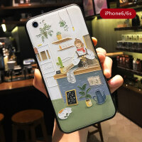 苹果iphone6手机壳7plus全包8x防摔xs保护套xr个性xsmax创意iphonex浮雕皮纹