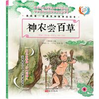 原创精美手绘系列:我的第一套最美中国神话绘本・神农尝百草(全彩注音版)