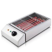 商用电烧烤炉家用电热烧烤炉不锈钢电烤炉烤串机烤肉机