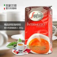 世家兰铎Segafredo意大利原装进口精选拼配纯黑咖啡粉香醇250g