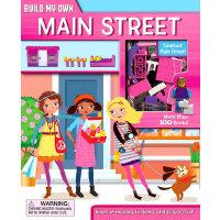 Main Street(Build My Own)边玩边读:建造街道(含玩具插块)ISBN9780794433369