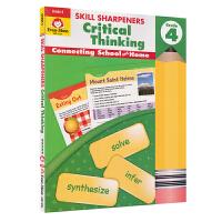 Evan-Moor Skill Sharpeners Critical Thinking Grade 4 小学四年级批