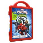 现货 蜘蛛侠 磁贴游戏书 漫威儿童益智书 6个游戏场景 英文原版 Spider-Man: An Amazing Boo