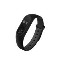 [礼品卡]小米手环2智能蓝牙防水跑步运动计步器睡眠心率检测器手表支持IOS