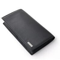 Calvin Klein凯文克莱钱包 男士CK钱包商务长款钱夹皮夹礼盒装【美国直邮】