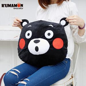 日本正版 KUMAMON酷MA萌 熊本熊抱枕靠垫坐垫 *周边 原装正品授权 GZ1213