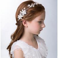 新年时尚儿童头饰 珍珠发夹发饰 女童饰品儿童礼服配饰