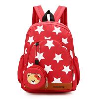 韩版幼儿园书包中大班星星卡通小熊双肩包--岁男女孩儿童背包