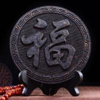 大红袍茶饼武夷岩茶 珍藏礼品工艺品乌龙茶 送茶架