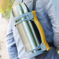 保温水壶户外便携登山旅游车用大容量车载暖热水瓶保温杯2升