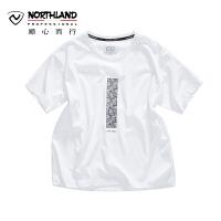 【顺心而行】NU诺诗兰短袖T恤夏季户外新品快干排汗舒适圆领T恤KL072408