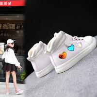 童鞋女童板鞋小白鞋秋冬儿童休闲运动鞋学生秋鞋