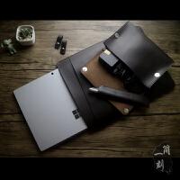 新款微软平板电脑surface pro3/4/5保护套book2内胆包lap皮套 神秘黑(surface book 1