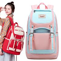 森系高中学生书包女初中生双肩包ins风大容量背包