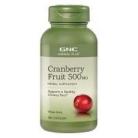美国GNC健安喜蔓越莓精华胶囊500mg 100粒【1瓶包邮】