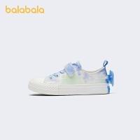 【2件7.5折:89.9】巴拉巴拉官方童鞋女童板鞋小白鞋2021新款幼童百搭翅膀可�坌⊥�