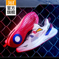 高达光耀联名|361男鞋2020秋季新款跑步休闲跑鞋网面透气运动鞋