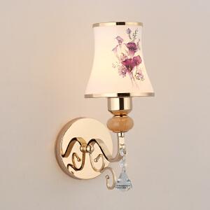 壁灯 时尚金色LED灯卧室书房床头灯简约现代客厅过道酒店墙壁灯 创意灯具