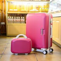 拉杆箱26寸万向轮女士学生行李箱24寸旅行箱子母20登机箱旅游箱包 26寸【买送十 终身保修】