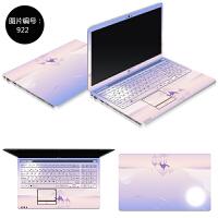 惠普G14-a002tx笔记本电脑贴膜14q-aj001tx贴纸aj105tx外壳保护膜 SC-922 ABC三面