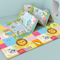 【1.8*1.5M 可折叠】宝宝爬行垫加厚可折叠客厅家用婴儿爬爬垫无味拼接地垫