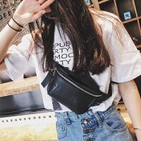女士腰包女2017新款潮时尚韩版百搭小包包女2018个性两用胸包