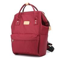 女学生书包大学生手提包双肩包新款多功能创意双肩包手提两用时尚休闲包