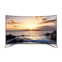 雷鸟(FFALCON) I55C-UI 55英寸 超薄4K曲面HDR人工智能金属边框 液晶电视 TCL出品(标配挂架)