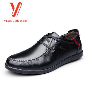 意尔康男鞋2016新款秋季新款男士单鞋6542AE76525W