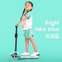 滑板车儿童1-3-6-12岁小孩宽轮单脚踏板车宝宝车可坐