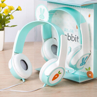 耳机头戴式男女学生音乐儿童带手机通用