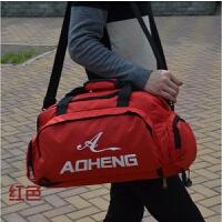 旅行包手提型 新款男士健身包篮球包可双背女士旅行包独立鞋位 瑜伽包