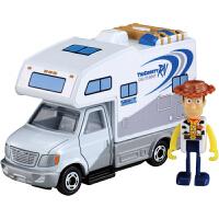 玩具总动员4合金小汽车模来动公仔车胡迪