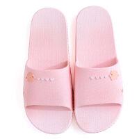 拖鞋女夏季外穿学生韩版PVC卡通拖鞋男凉拖鞋女拖鞋居家情侣拖鞋